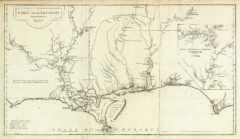 1752 State Map of Louisiana