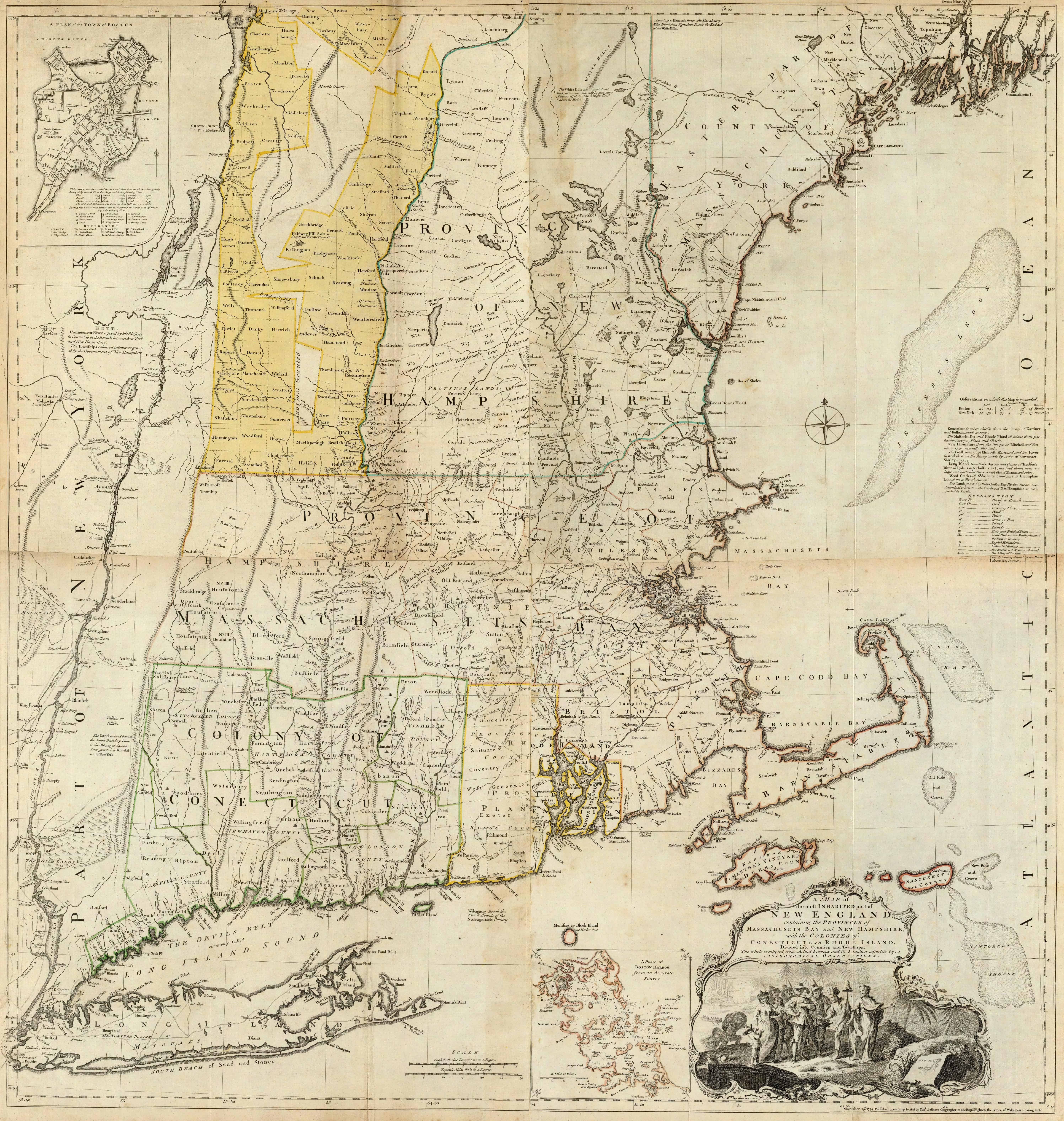 Old Historical City County And State Maps Of Massachusetts
