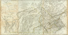 1776 State Map of Pennsylvania exhibiting not only the Improved Parts of that Province, but also its Extensive Frontiers