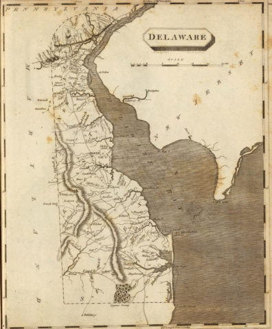 1804 Map of Delaware