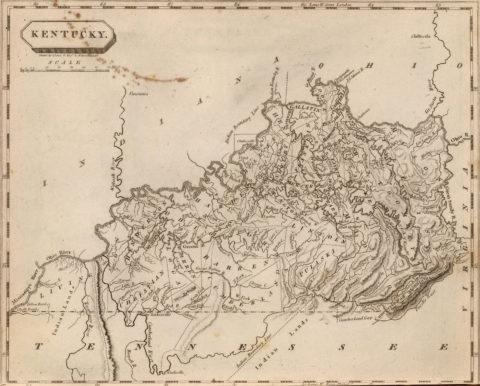 1804 Map of Kentucky