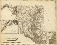 1804 State Map of Maryland
