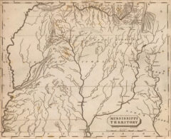 1804 Map of Mississippi Territory