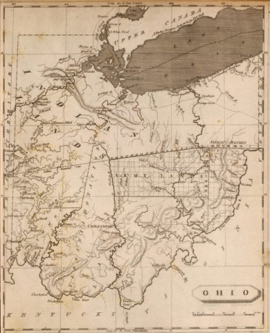 1804 State Map of Ohio