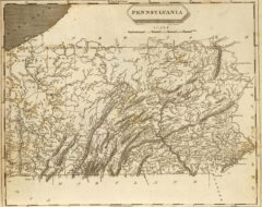 1804 State Map of Pennsylvania
