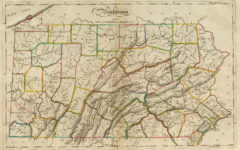 1814 State Map of Pennsylvania