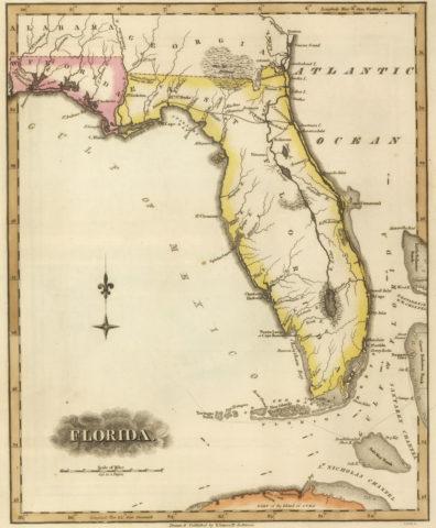 1817 Map of Florida