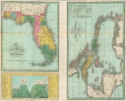 1827 Map of Florida