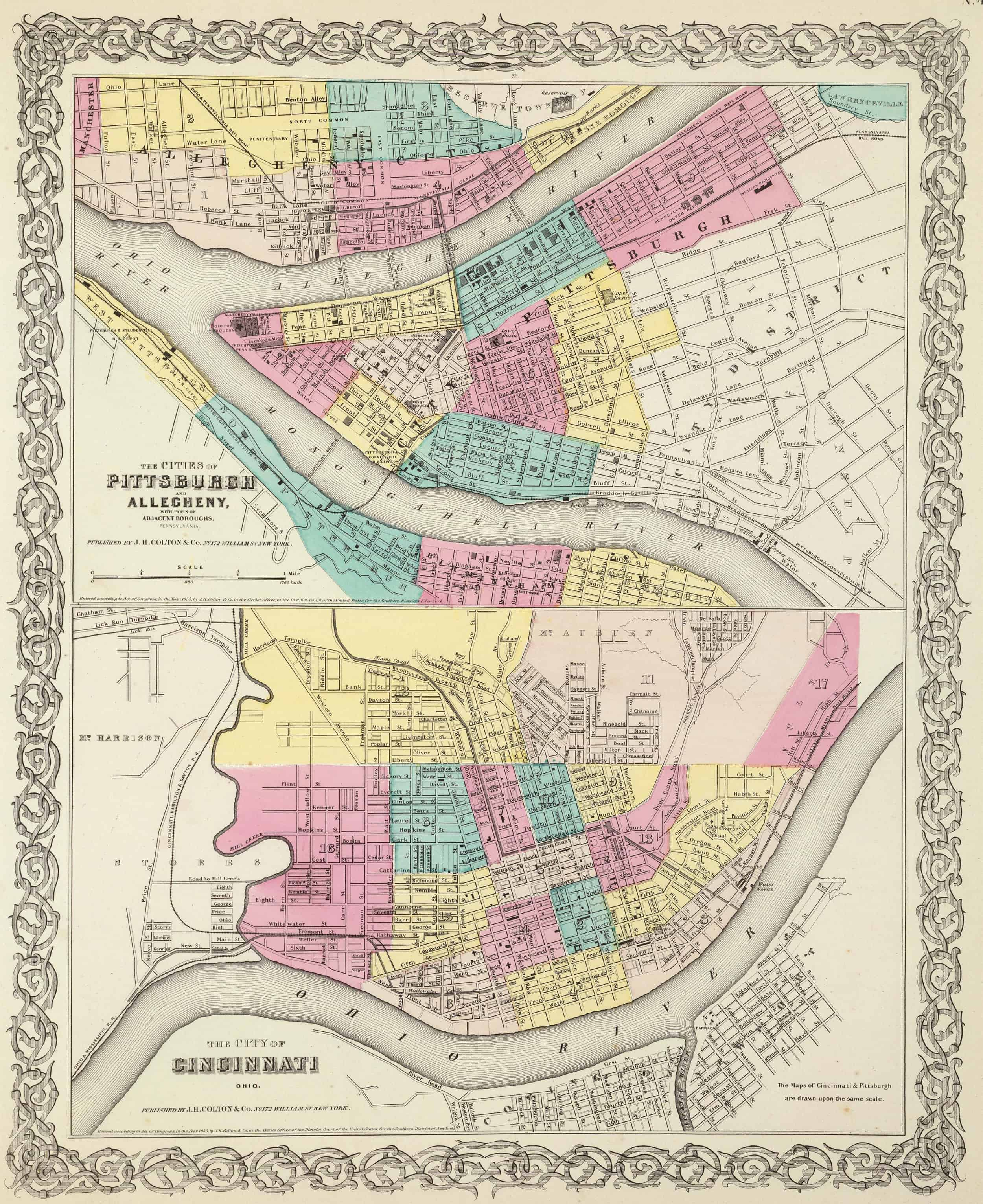 Old Historical City, County and State Maps of Pennsylvania ... on state of pa map, cowansville pa map, schuylkill river pa map, north strabane pa map, baldwin pa map, manns choice pa map, york pa map, centre hall pa map, huntingdon valley pa map, emporium pa map, bear rocks pa map, bucks co pa map, south hills pa map, karns city pa map, barkeyville pa map, red land pa map, hilliards pa map, greensburg pa map, rosslyn farms pa map, east pittsburgh pa map,