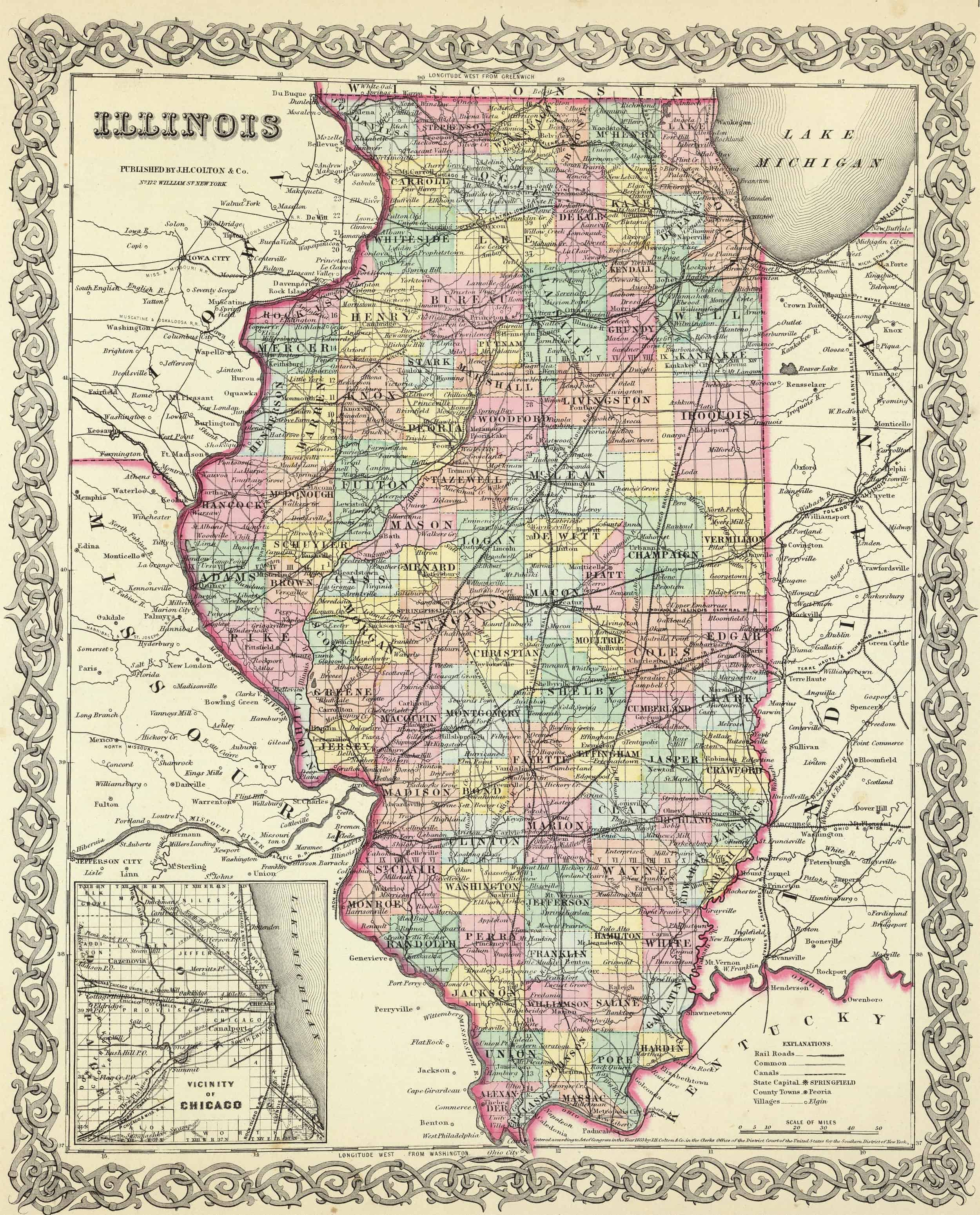 Old Historical City, County and State Maps of Illinios on map of vestaburg pa, map of lyons pa, map of versailles pa, map of lamar pa, map of needmore pa, map of throop pa, map of fredericktown pa, map of hickory pa, map of plainfield township pa, map of spring mills pa, map of brighton township pa, map of german township pa, map of adams twp pa, map of fayette pa, map of new york pa, map of north penn pa, map of hopewell pa, map of ruffs dale pa, map of kempton pa, map of madison pa,