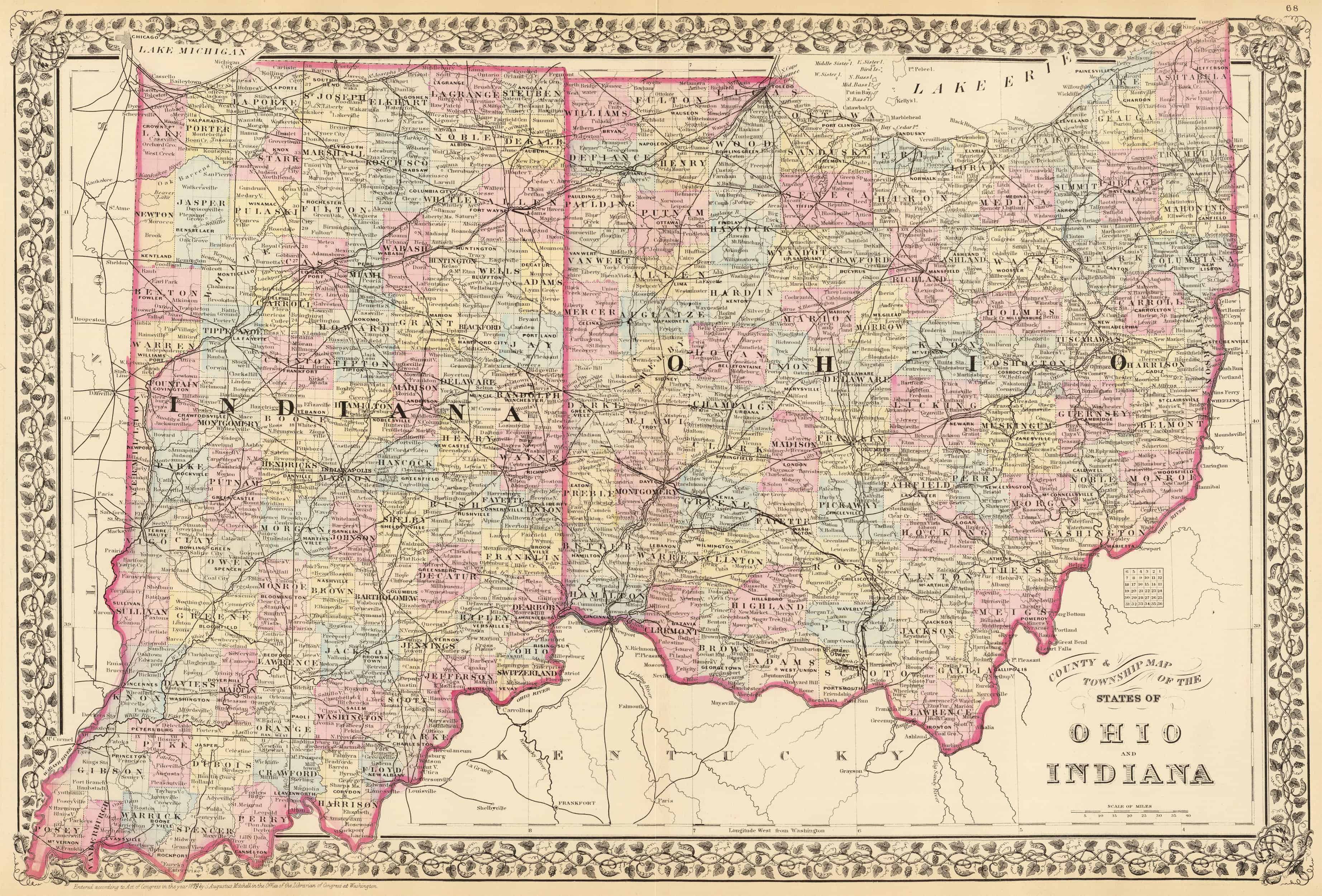 Old Historical City, County and State Maps of Ohio on northwest ohio cities map, bowling green state university ohio map, erie county ohio map, sandusky ohio road map, ottawa county ohio map, city of youngstown ohio map, sandusky river ohio map, scioto county ohio map, seneca county ohio map, upper sandusky ohio map, wood county ohio map, sandusky ohio folded street map, ohio ohio map, wyandot county ohio map, fremont ohio map, fort sandusky ohio map, eaton ohio street map, cuyahoga county ohio map, wake forest ohio map, henry county ohio map,