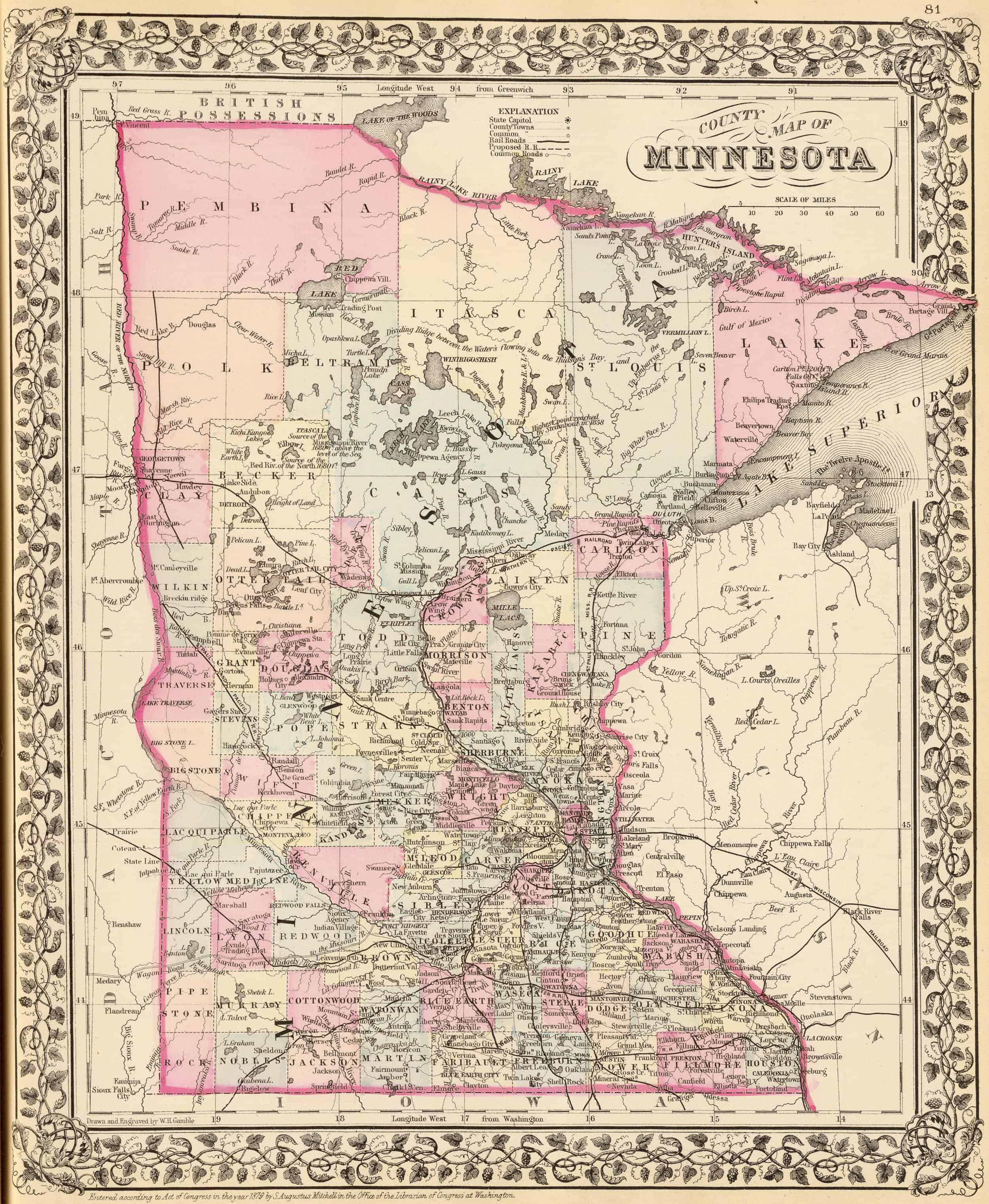 Old Historical City, County and State Maps of Minnesota on map of oregon, map of connecticut, map of colorado, map of georgia, two harbors minnesota, map of ohio, cities in minnesota, map of illinois, famous landmarks in minnesota, anoka minnesota, map of delaware, county map minnesota, minnetonka minnesota, map of alabama, map of missouri, explore minnesota, eagan minnesota, st cloud minnesota, map of florida, madison minnesota, map of michigan, rural minnesota, map of hawaii, andover minnesota, eden prairie minnesota, map of pennsylvania, grand marais minnesota, map of new jersey, princeton minnesota, map of virginia, marcell minnesota, google maps minnesota, map of oklahoma, map of germany, glenwood minnesota, willmar minnesota, buffalo minnesota,