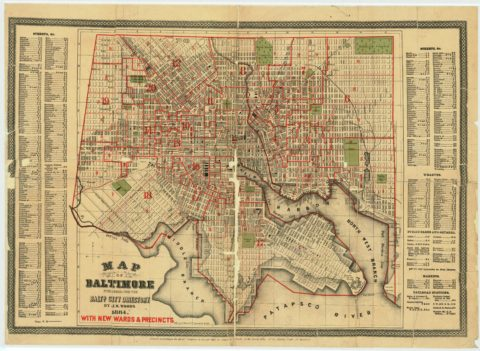 1884 Baltimore City Directory
