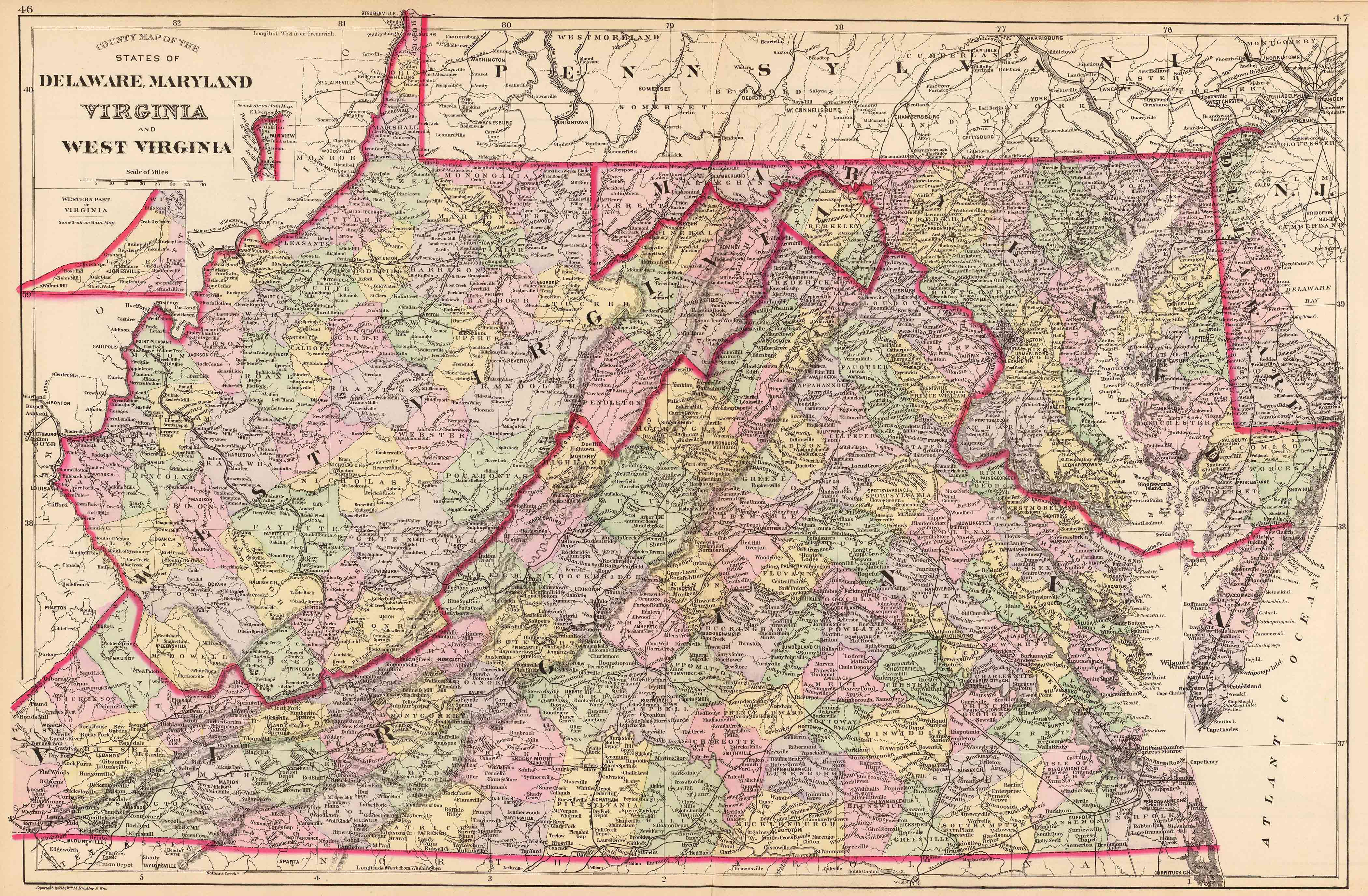 Old Historical City, County and State Maps of West Virginia on tennessee's state map, state of maryland map, hawaii's state map, canada's state map, iowa's state map, wyoming's state map, maine's state map, oregon's state map, new jersey's state map, idaho's state map, indiana's state map, alaska state map, minnesota's state map, state of virginia map, alabama state map, california state map, new york's state map, arizona's state map, floridas state map, india's state map,