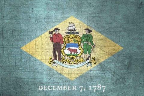 Delaware Flag US State