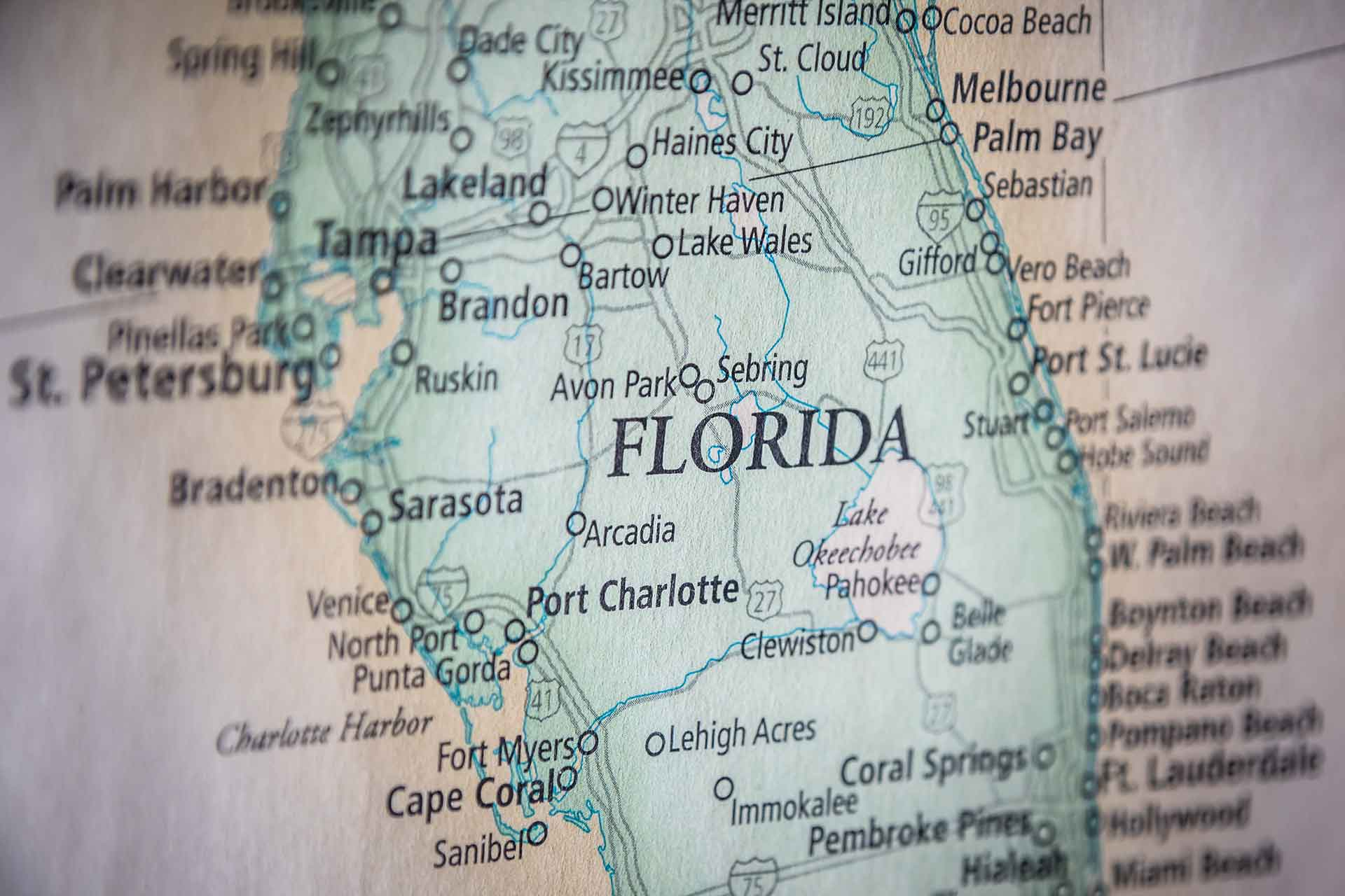 Maps of Florida - Historical, Statewide, Regional ...