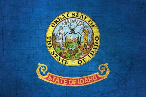 Idaho Flag US State