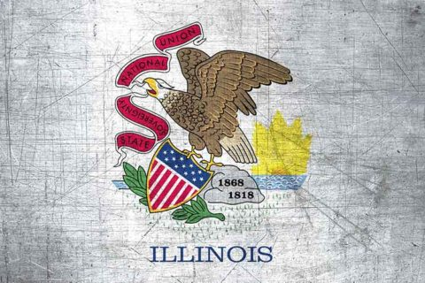 Illinois Flag US State