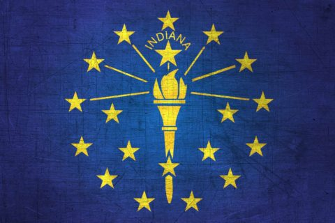 Indiana Flag US State
