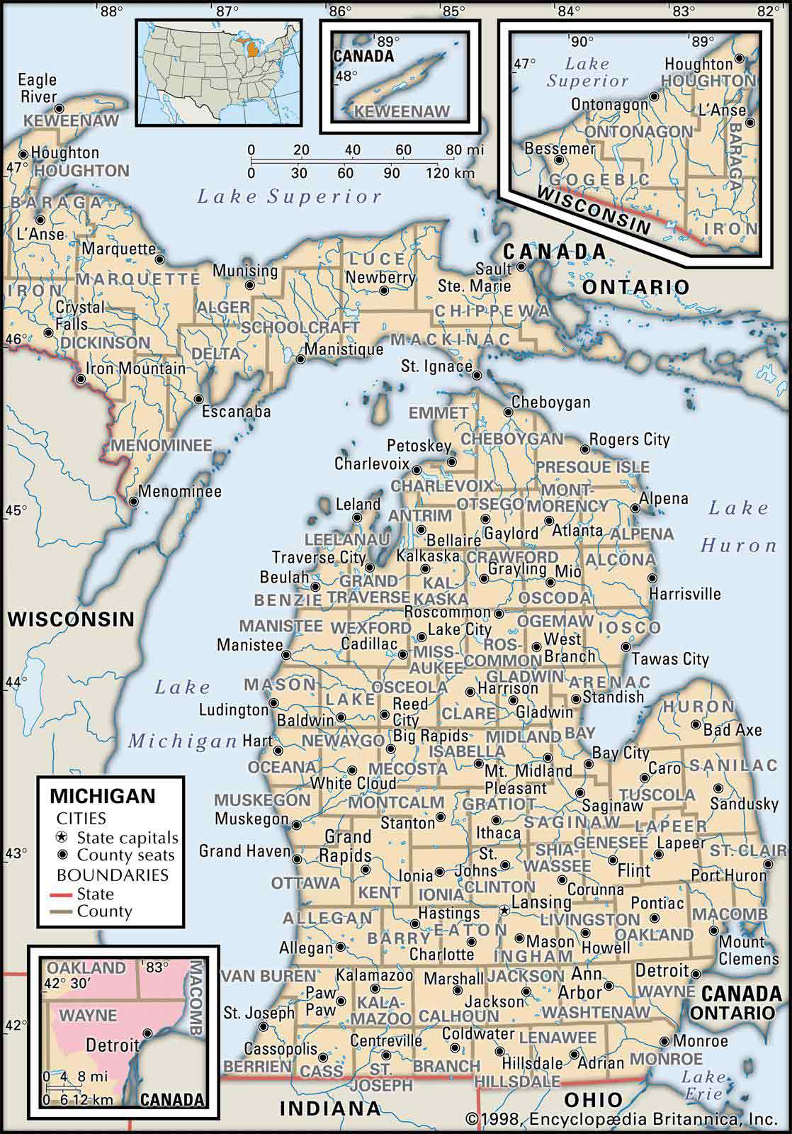 Old Historical City, County and State Maps of Michigan on wisconsin county map with roads, united states map with roads, clinton county map with roads, michigan county map with roads, denton county map with roads, gratiot county roads, wyoming map with roads, alabama county map with roads, pennsylvania county map with roads, jackson map with roads, hamilton county map with roads, georgia county map with roads, ohio county map with roads, dallas county map with roads,