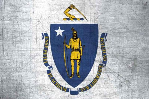 Massachusetts Flag US State