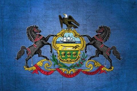 Pennsylvania Flag US State